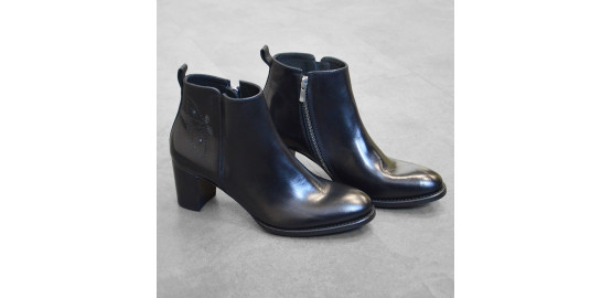 Bottines Atria Papillon Noir