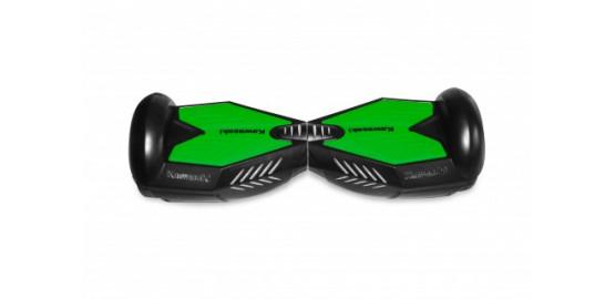 Hoverboard 6,5 pouces noir Kawasaki batterie LG vitessse 15Km/h