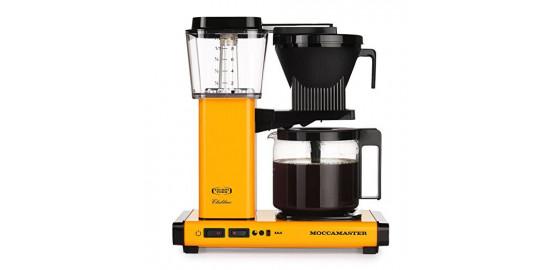 Moccamaster KBG741-AO Jaune Cafetière filtre 1,25 L