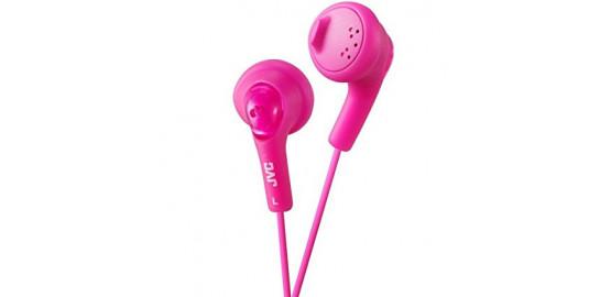 Ecouteurs JVC filaire rose
