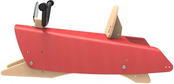 Bascule Moto 2 en 1 Rouge
