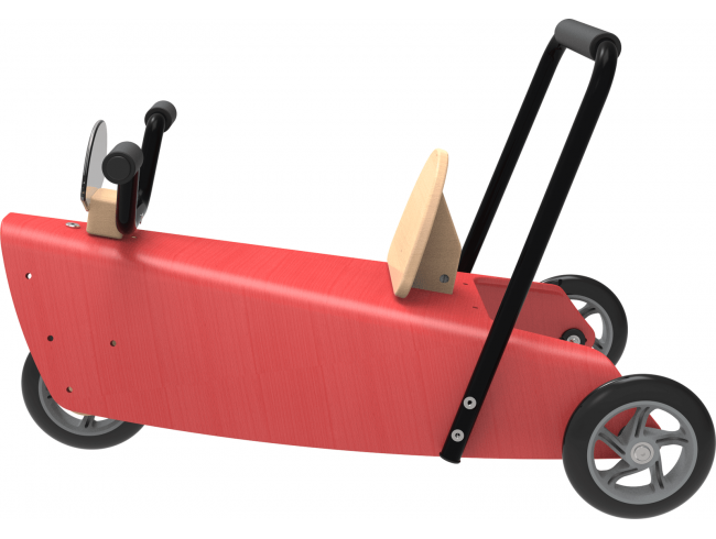 Porteur Moto 2 en 1 Rouge