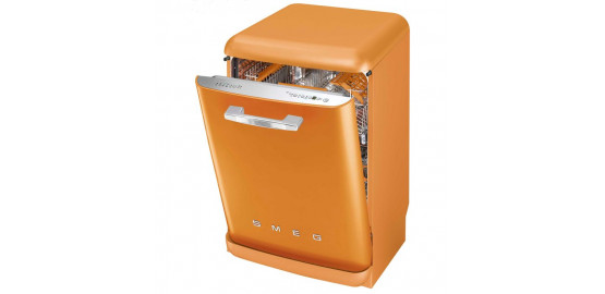 SMEG lave vaisselle pose libre orange 13 couverts blv2o-2