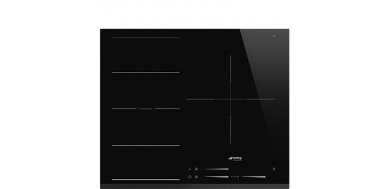 SMEG table induction 3 zones flexizone noir si1f7635b
